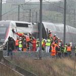 Wykolejenie pociągu TGV we Francji. 21 osób rannych