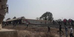 Wykolejenie pociągu w Egipcie. Co najmniej 11 ofiar