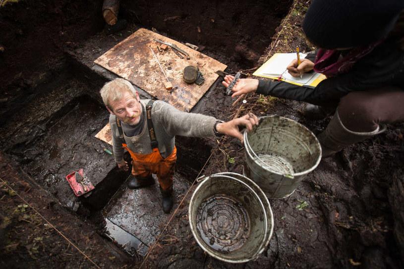 Wykopalisko na wyspie Triquet w Kolumbii Brytyjskiej było dużym zaskoczeniem  Fot. Grant Callegari/Hakai Institute /materiały prasowe