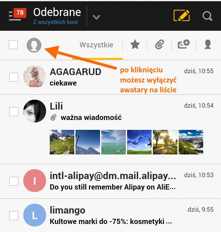 wyłączanie awatarów /INTERIA.PL