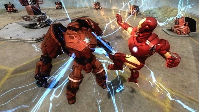 Wyładowania elektryczne w połączeniu z żelaznym sierpowym Iron-Mana, to murowany knockout /INTERIA.PL