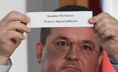 Wylosowano numery list komitetów wyborczych
