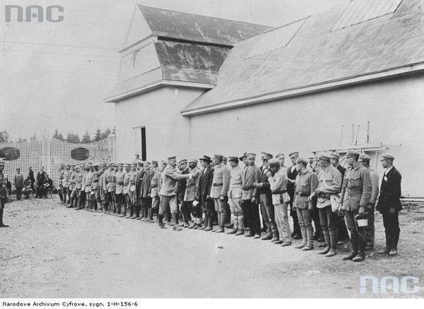 Oddziały Strzelców w Oleandrach w Krakowie