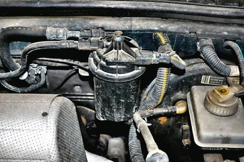 Wymiana filtra paliwa /Motor