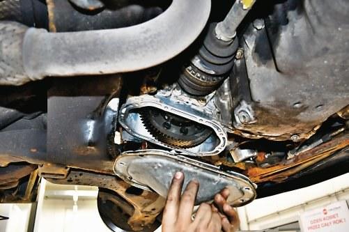 Wymiana oleju skrzyni /Motor