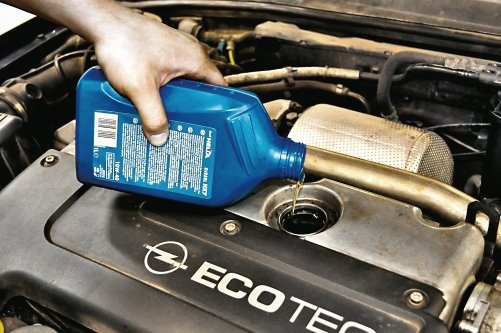 Wymiana oleju /Motor