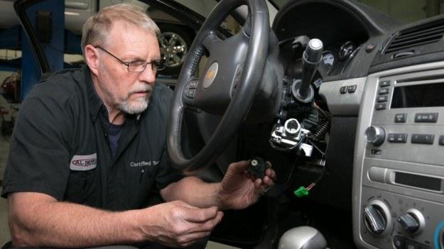 Wymiana stacyjki w objętym akcją aucie GM /Chevrolet