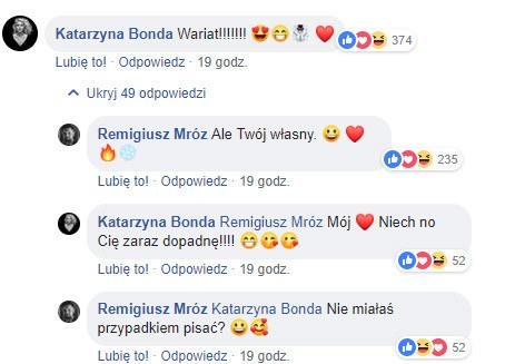 Wymiana zdań między Mrozem a Bondą /Facebook