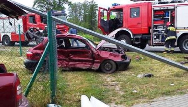 Wymusił pierwszeństwo i doprowadził do wypadku /KWP Lublin