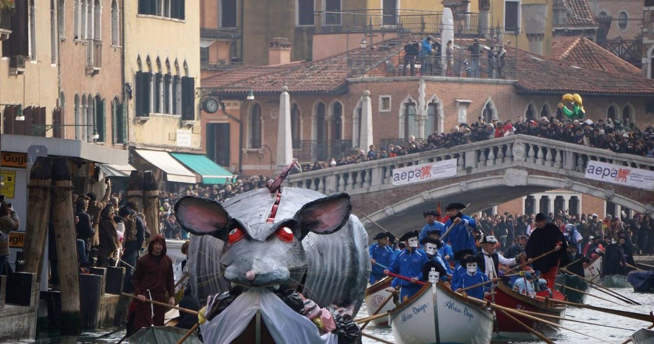 Wymyślne przebrania i mnóstwo kolorów. Trwa Karnawał w Wenecji