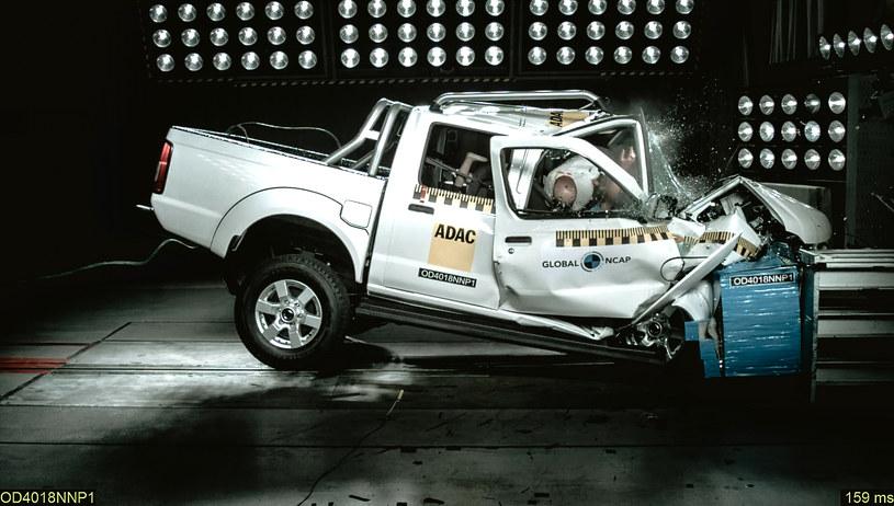 Wynik Nissana zszokował fachowców / Fot: Global NCAP /