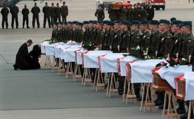 Wyniki audytu w BOR wykazały, że wizyta prezydenta w Katyniu była źle zabezpieczona /AFP