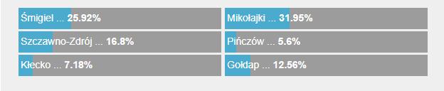 Wyniki głosowania /RMF FM /Zrzut ekranu