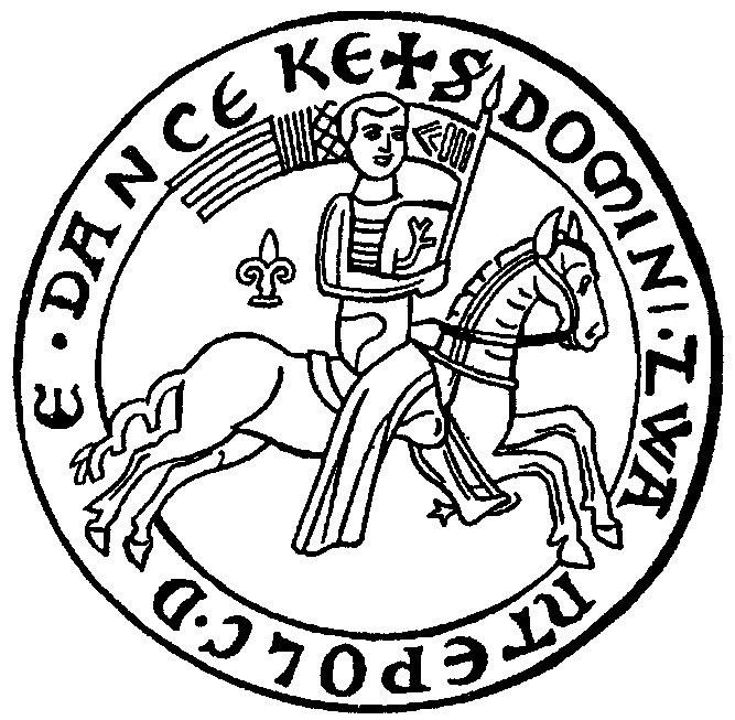 Wyobrażenie pieczęci Świętopełka, księcia, który założył Zantyr. /Odkrywca