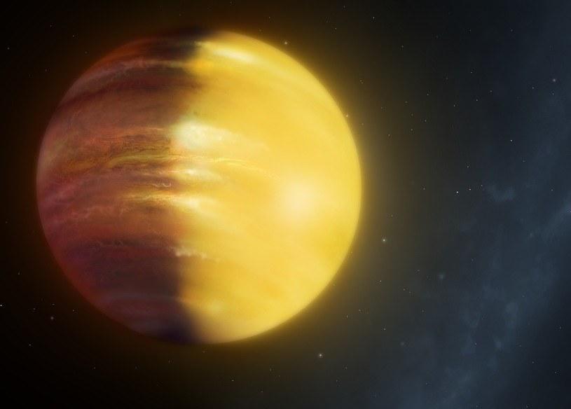 Wyobrażenie planety HAT-P-7b /materiały prasowe