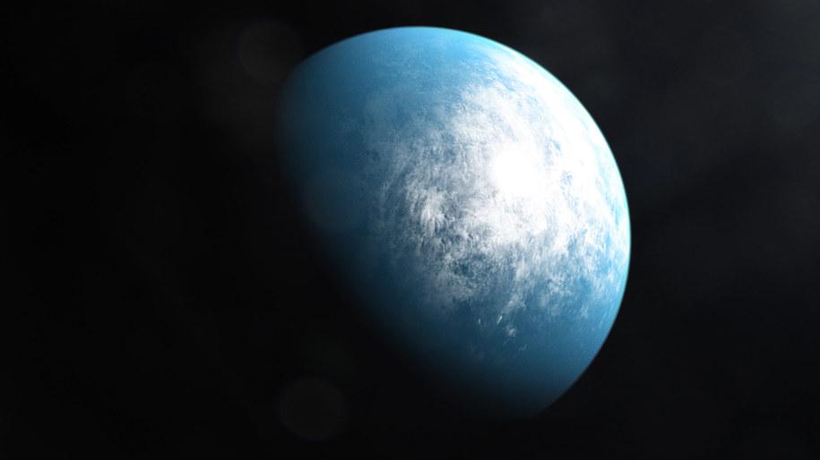 Wyobrażenie planety TOI 700 d /NASA's Goddard Space Flight Center /Materiały prasowe
