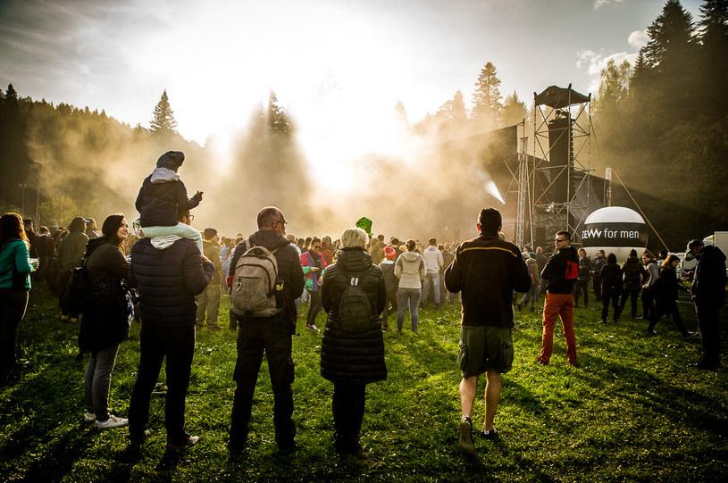 - Wyobraziliśmy sobie, jak pięknie początek festiwalu będzie wyglądał właśnie tutaj - mówili organizatorzy festiwalu /Ewelina Wójcik, ShowTheShow.pl /materiały prasowe
