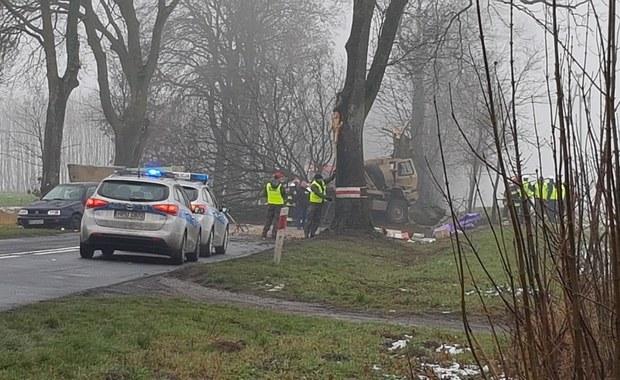 Wypadek amerykańskiej ciężarówki wojskowej. Są ranni