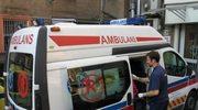 Wypadek autobusu, są ranni