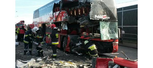 Według najnowszych informacji 14 osób jest rannych, w tym jedna ciężko.