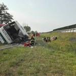 Wypadek autobusu w Konstantynowie. Są ofiary śmiertelne