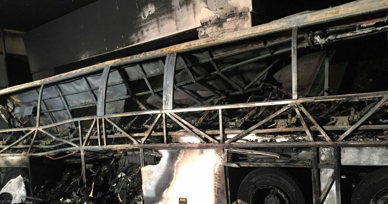 Wypadek autobusu wiozącego dzieci