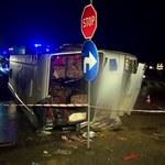 Wypadek autokaru na S3. Kierowca usłyszał zarzut, wniosek o areszt odrzucony