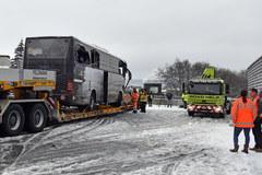 Wypadek autokaru w Szwajcarii