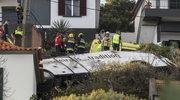 Wypadek autokaru z turystami na Maderze. Wiele ofiar