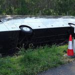 Wypadek autokaru z turystami na Węgrzech. Jest śledztwo polskiej prokuratury