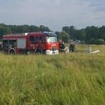 Wypadek awionetki na lotnisku Muchowiec w Katowicach