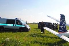 Wypadek awionetki w Piotrkowie Trybunalskim