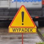 Wypadek busa i osobówki na zakopiance w Krakowie. Sześć osób rannych