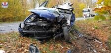 0007OJFB9AMDWHNX-C307 Wypadek busa z piłkarzami. Zginęła jedna osoba