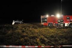 Wypadek cessny w Łodzi