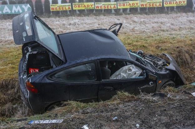 Wypadek drogowy /East News