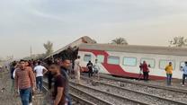 Wypadek kolejowy w Egipcie. Co najmniej 97 rannych