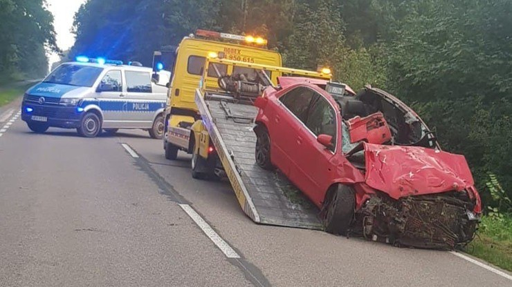 Wypadek koło Ciechanowa. Zginął 18-latek, a jego rówieśniczka jest ciężko ranna /KPP w Ciechanowie /Archiwum