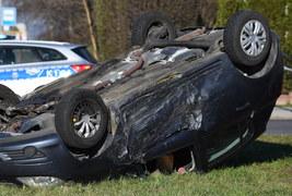 Wypadek koło Rzeszowa. Cztery osoby ranne