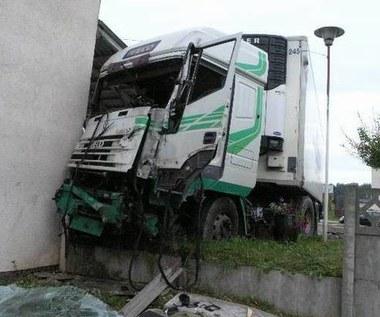 Wypadek koło Skarżyska