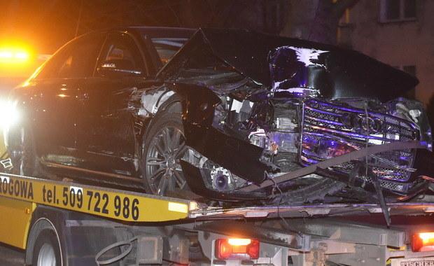 Wypadek limuzyny premier Beaty Szydło
