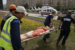 Wypadek metra w Moskwie