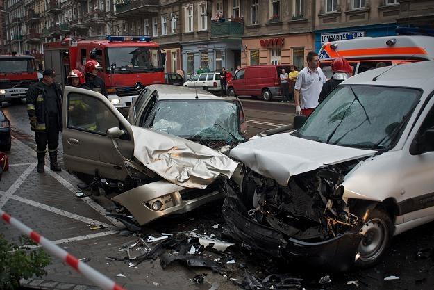 Wypadek może się zdarzyć również w mieście /PAP