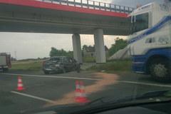 Wypadek na A1, pięć osób zostało rannych