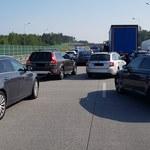 Wypadek na A1 w Łodzi. Zablokowana droga w kierunku Gdańska