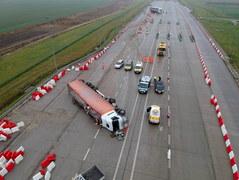 Wypadek na A4. Kierowca pijany