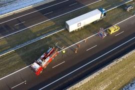 Wypadek na A4. Nie żyje 57-letni kierowca