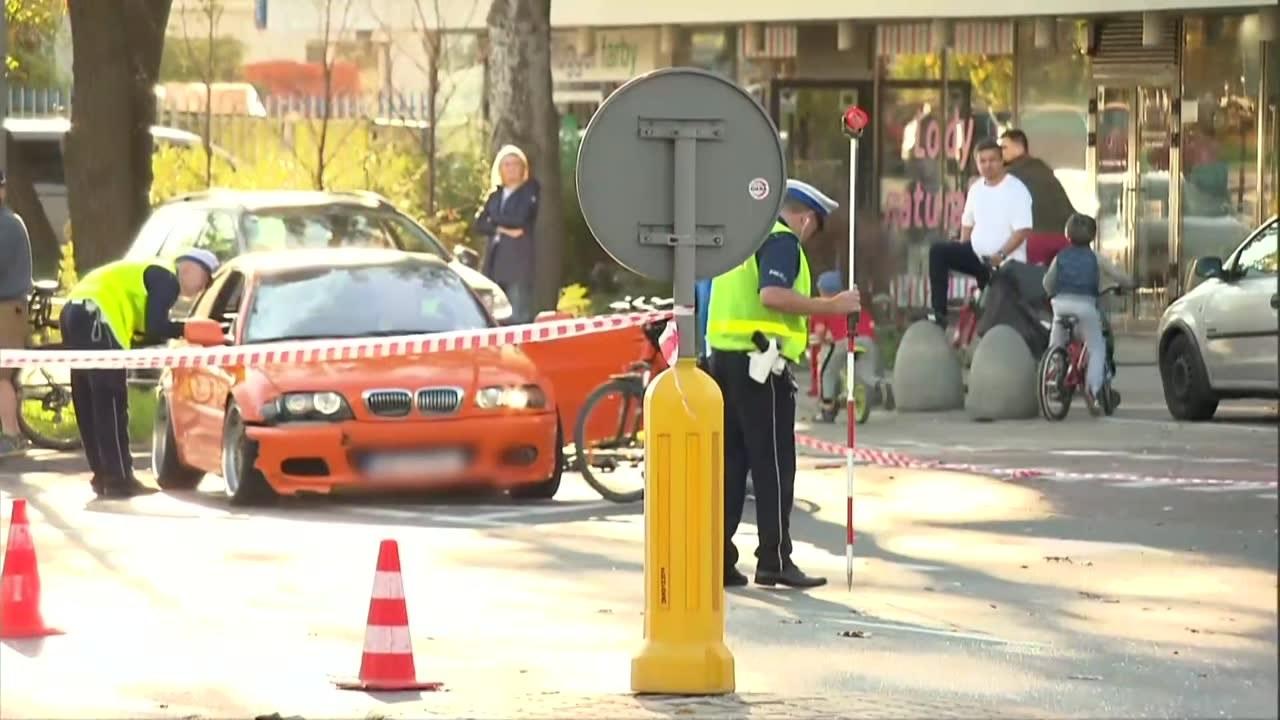 Wypadek na Bielanach. Sprawca trafi na oddział psychiatrii przy areszcie w Łodzi