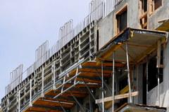 Wypadek na budowie wieżowca w Rzeszowie