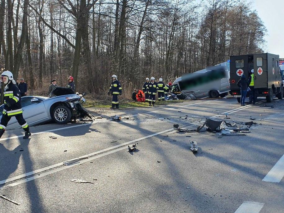 Wypadek na drodze krajowej nr 9 /Słuchacz Paweł /Gorąca Linia RMF FM